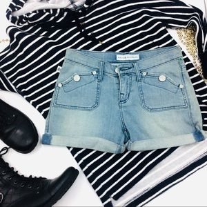 Rock & Republic Cuffed Jean Shorts